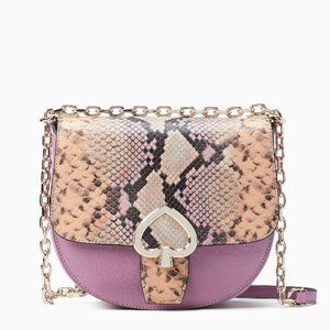 Kate Spade Robyn Exotic Chain Saddle Bag